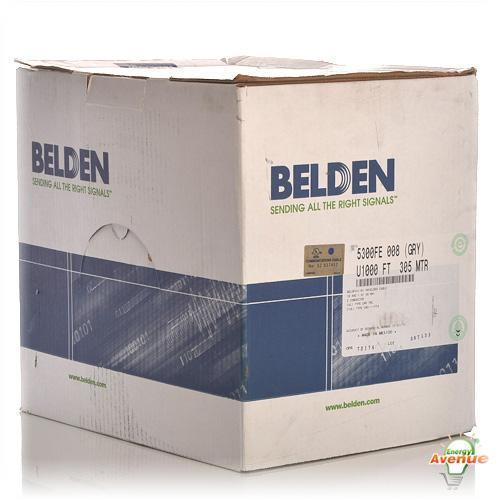 Belden 5300FE 008U1000 Gray Multi-Conductor Cable for Commercial ...